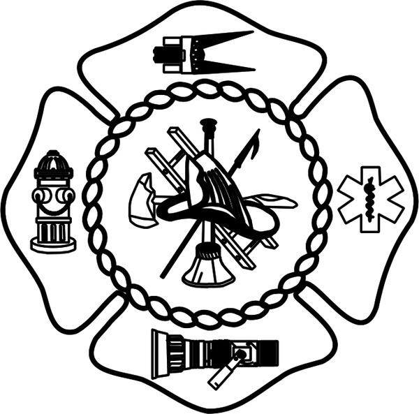 montgomery fire department free vector in encapsulated postscript