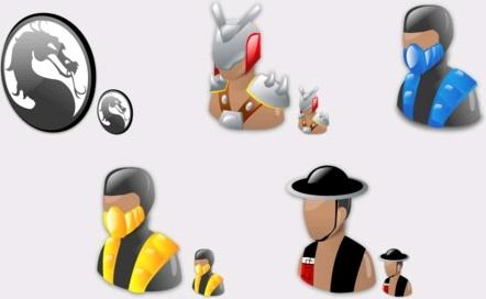 Mortal Kombat icons pack