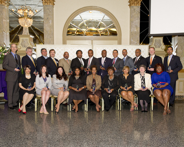 most distinguished leader of the year for minority business award