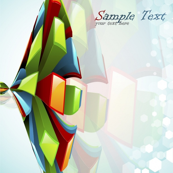 motion vector abstract elements