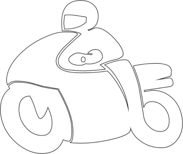motorcycle free vector in open office drawing svg svg vector