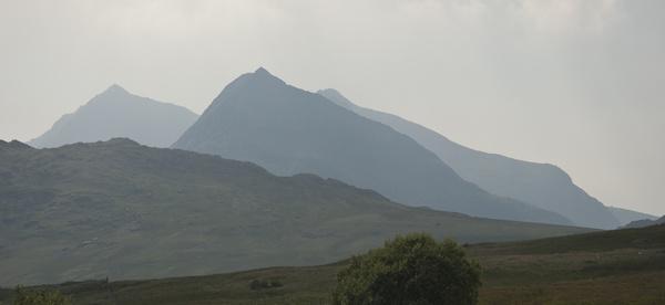 mountains snowdonia wales