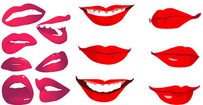 mouth 3 vector free vector in adobe illustrator ai ai vector rh all free download com Most Beautiful Lip Shape Cool Lip Makeup