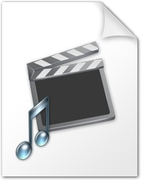 Movie and music file