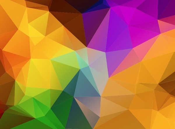 5d59e0de19cd Multi colored abstract background vector illustration Free vector in ...