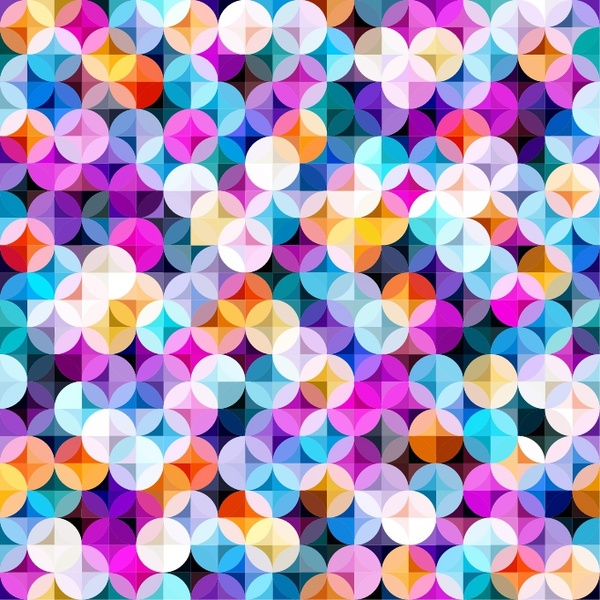 Multicolored Seamless Pattern Free vector in Adobe Illustrator ai