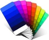Multil color card
