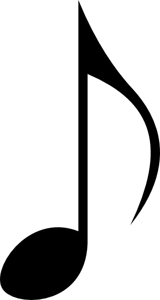 Music Note clip art Free vector in Open office drawing svg ...