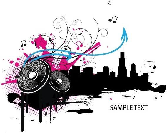 Music Vector illustration