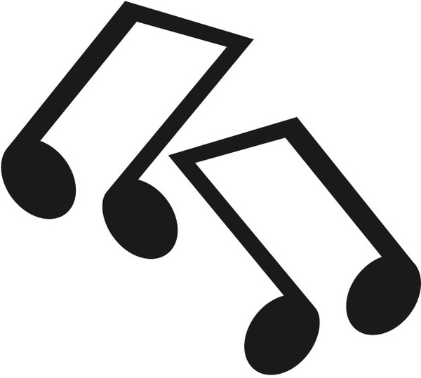 musical notes free vector in adobe illustrator ai ai vector rh all free download com music note vector music note vector art