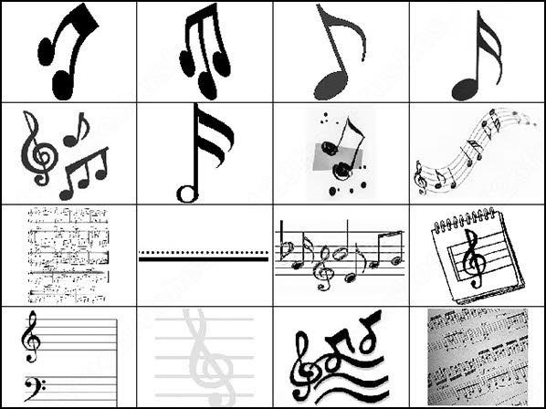 musical notes photoshop 8 brush