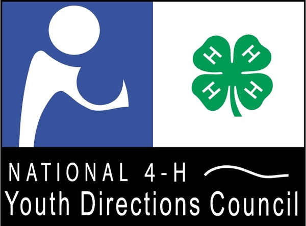 national 4 h youth directions council free vector in encapsulated