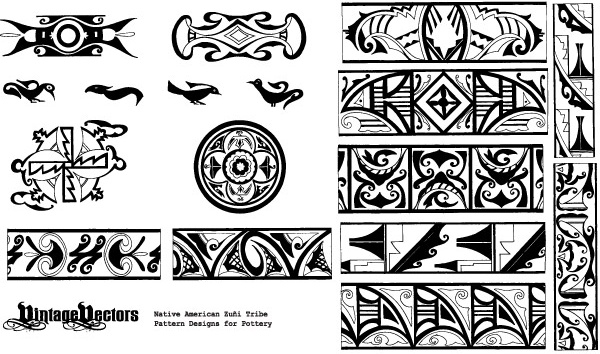 Native American Indian Fonts Free Vector Download 3 410