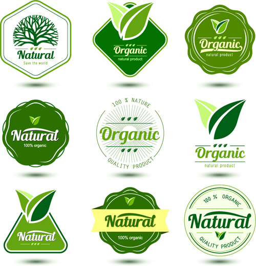 natural product labels design vector free vector in encapsulated