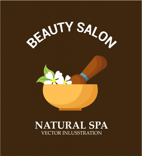 Natural spa background