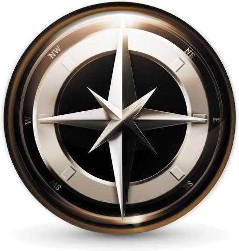 navigation icon 03 vector