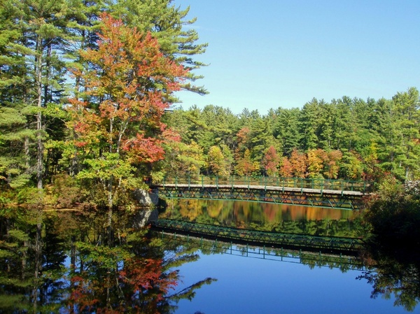 new hampshire pond water
