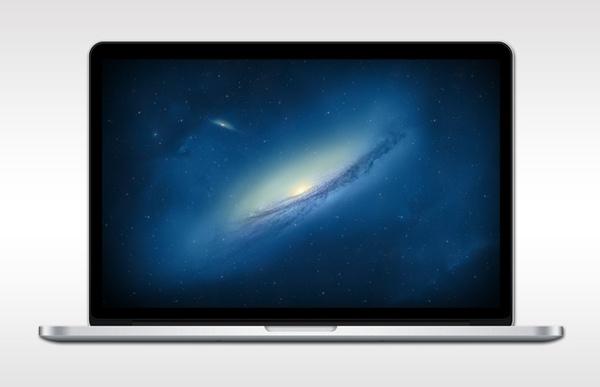 New Macbook Pro PSD