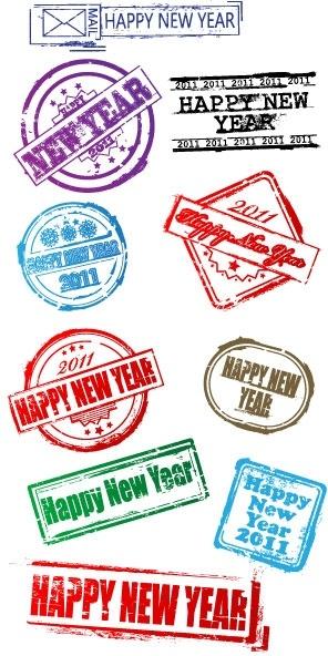 new postmarks vector