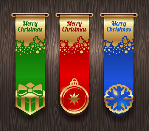 new year14 christmas elements set vector