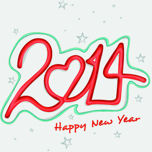 new year14 vector graphics