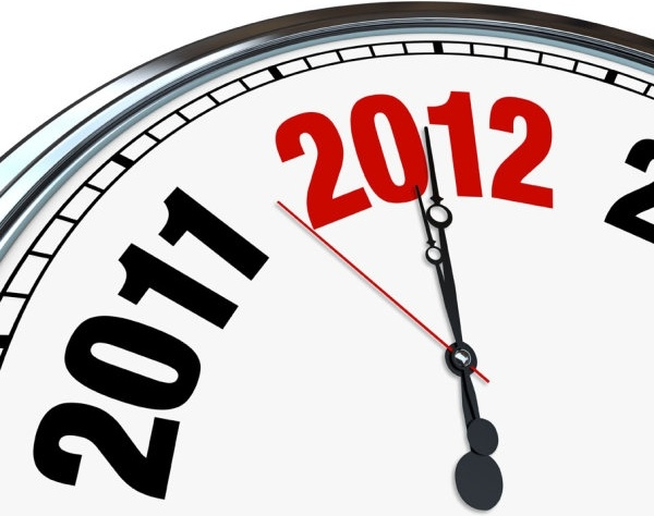new year clock background highdefinition picture