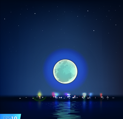 Moon Vector Free Vector Download 799 Free Vector For