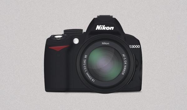 Nikon D3000 Icon