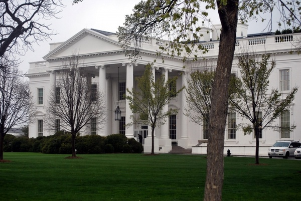 north side white house