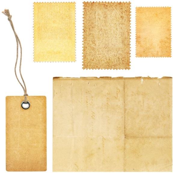 nostalgia kraft paper label paper 01 hd picture