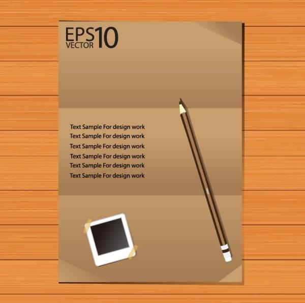 notebook background 04 vector