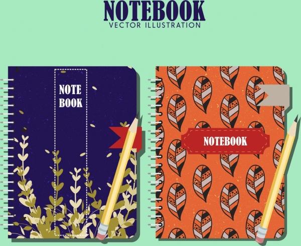 Free School Notebook Cover Vector : School notebook cover free vector download