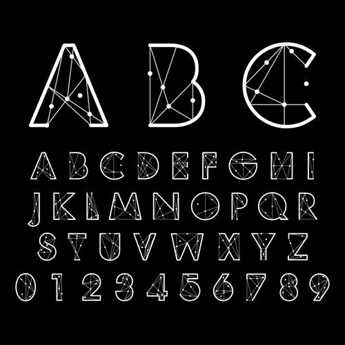 Number And Alphabet Creative Design Vectors Free Vector In Encapsulated Postscript Eps Eps Vector Illustration Graphic Art Design Format Format For Free Download 348 72kb