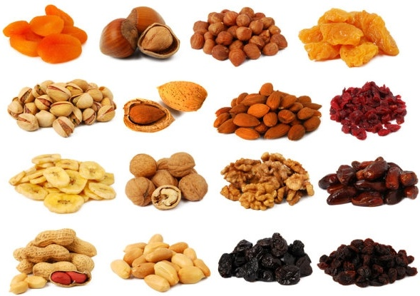 nuts and dried fruit 01 hd pictures