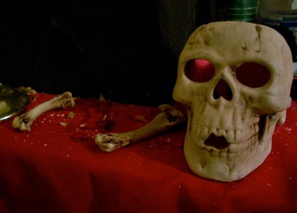 occult skull