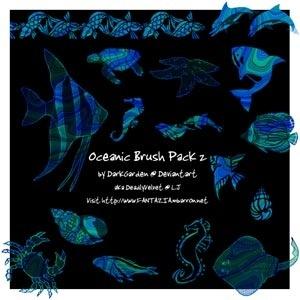 Oceanic Brush Pack 2