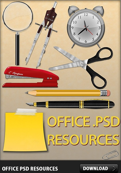 Office Free PSD Resources