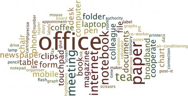 office word cloud