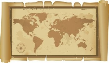 Old and classic world map free vector in encapsulated postscript eps old and classic world map free vector 116mb gumiabroncs Choice Image