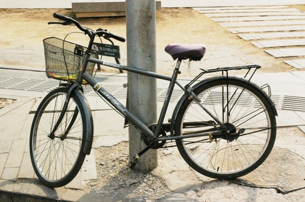 old bicycle