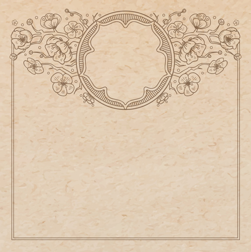 Vector old paper and wood background ai, svg, eps vector free.