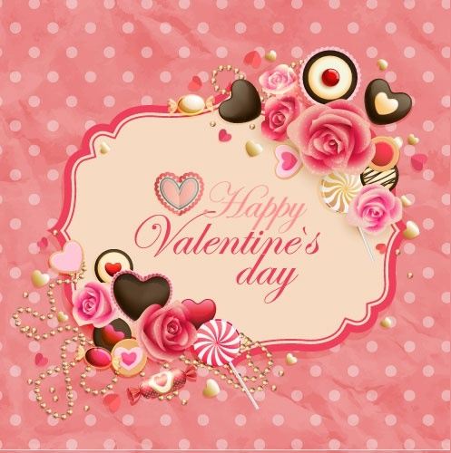 Oldfashioned Valentine Cards 01 Vector Free Vector In Encapsulated