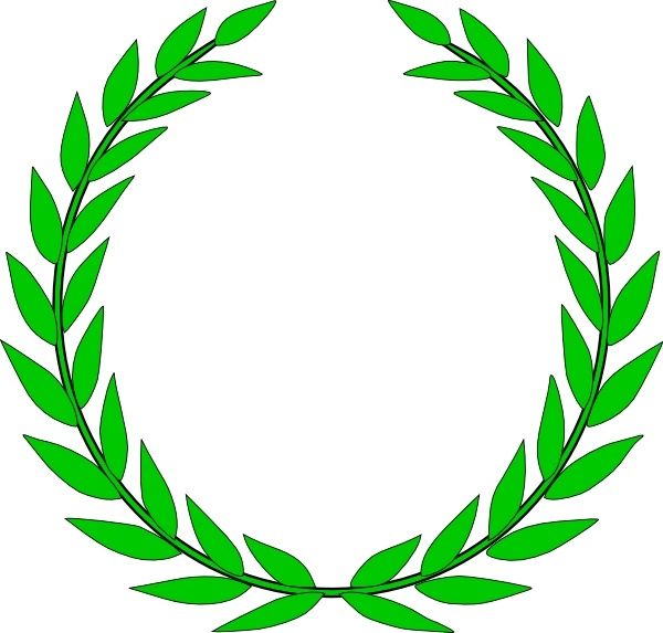 Olive Wreath Clip Art Free Vector In Open Office Drawing Svg Svg