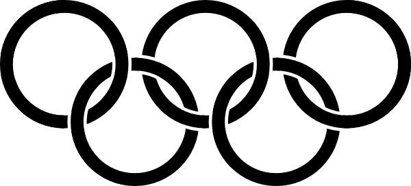 olympic rings black clip art free vector in open office drawing svg rh all free download com winter olympic symbols clip art olympic rings border clip art
