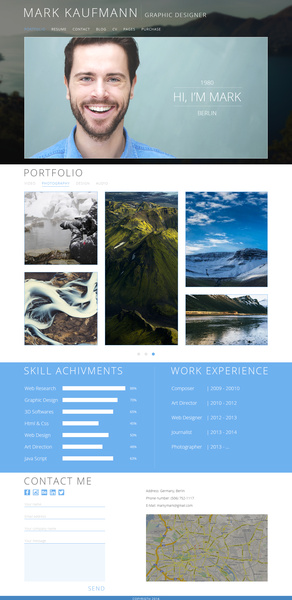 one pade resume psd
