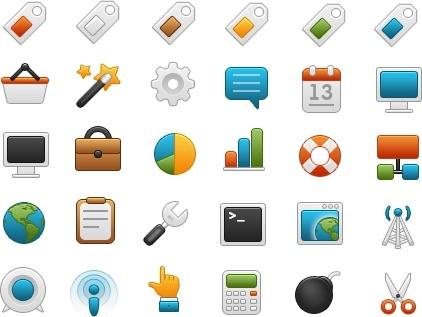 Onebit free icon set #2 icons pack