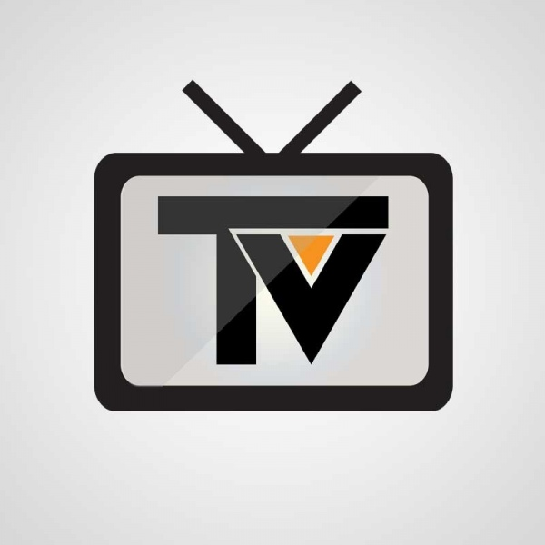 Online tv streaming logo Free vector in Adobe Illustrator ...