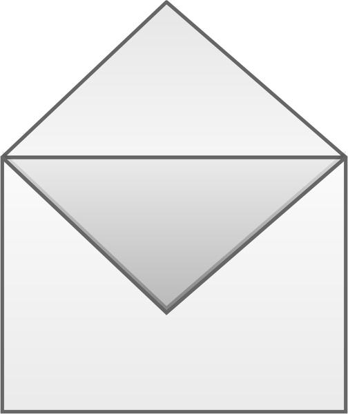 Open Envelope Free Vector 3521KB