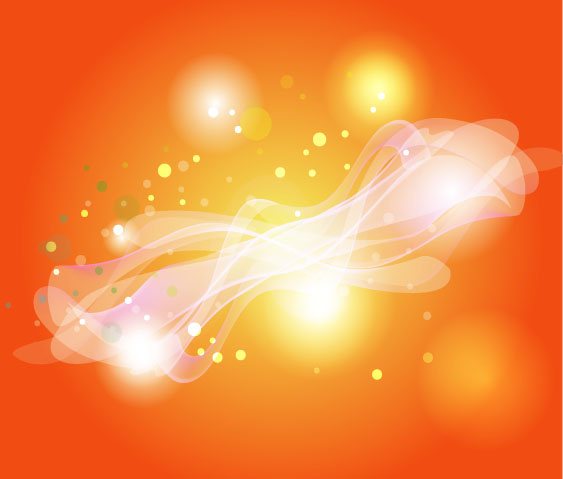 orange background glowing wonderful