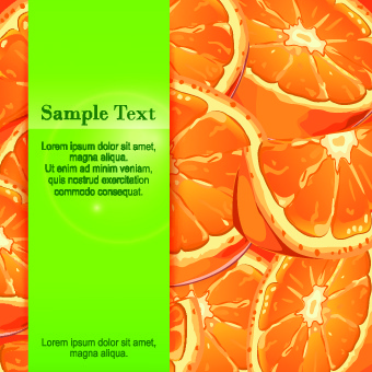 orange background vector graphic